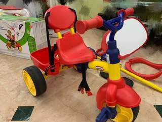 Almost brand new Little Tikes Tricycle