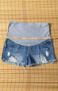 Maternity shorts 36 inches hiplone