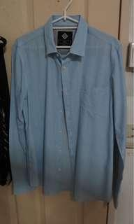 Cotton on light blue shirt