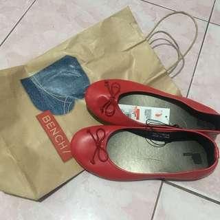 Bench Red Doll Shoes