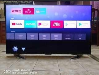 Sharp Aquos 65in UHD 4K Smart Tv Android