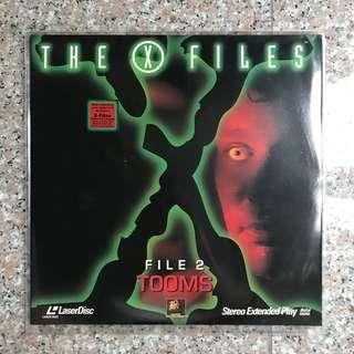 🚚 X-Files 2 Tooms LD Laser Disc