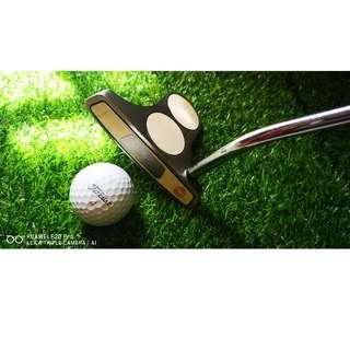 Golf Putter Odyssey 2 Ball White Hot Steel Blade