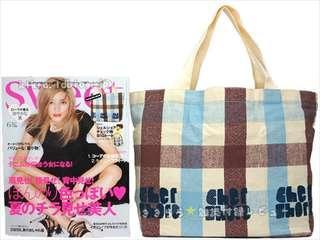 Cher 格仔單膊/手挽袋 連原裝紙盒 ~ 🇯🇵日本雜誌附錄袋