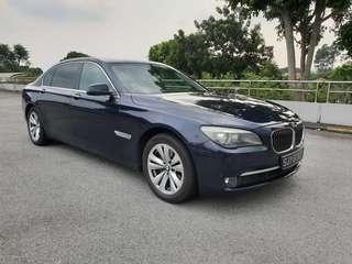 Cheapest Long Term Rental BMW 730Li