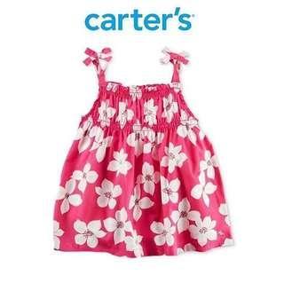 3T BN Carter's Floral Tank Top