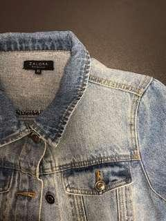 zalora denim trucker jacket