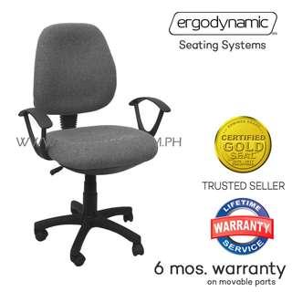 Ergodynamic OCA-105GRY Office Chair, Office Furniture