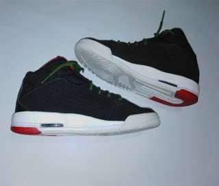 JORDAN youth size Jordan New School BG Big Kids' Shoes Black/Green Pulse