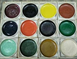 Japanese Ceramic China Painting Colours