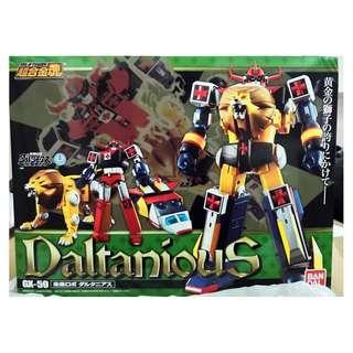 全新 日版 超合金魂 GX-59 Daltanious 金毛獅王 盒角凹