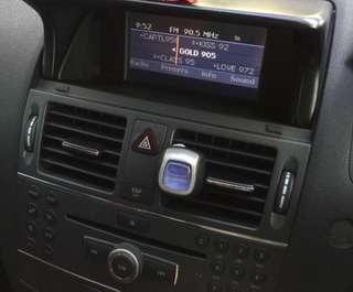 W204 C200 Stock Head Unit with cover
