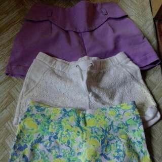 mixed shorts