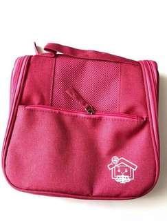 (全新) 桃紅色 掛勾式 旅行 儲物袋 旅行收納袋 收納包 實用袋