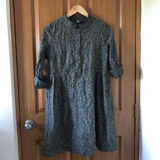 Long Sleeves Vintage Dress