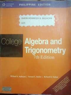 College Algebra and Trigonometry 7th Edition