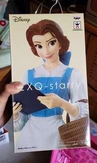 全新日本景品迪士尼美女與野獸主角貝兒figure