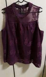 Sweet Lace Blouse.Use once.