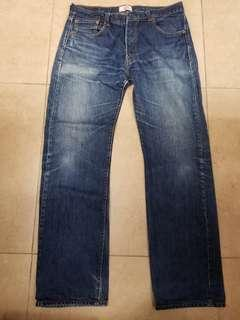 Levi's 牛仔褲 levis jeans 501