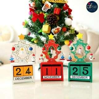 🎄X'MAS Calendar Stand (limited edition)☃️ | Christmas | Flower Bouquet | Flower | Flowers | Fresh Flower | Rose | Roses