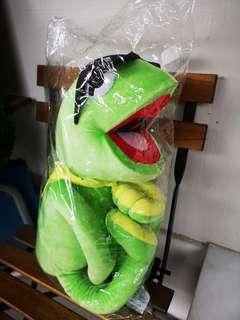 Muppets Kermit the frog BIG soft toy plush