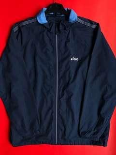 Blue Asics Jacket