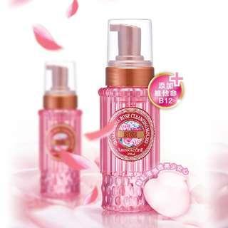 🚚 大馬士革玫瑰氨基酸淨白洗卸二用慕絲B12升級版