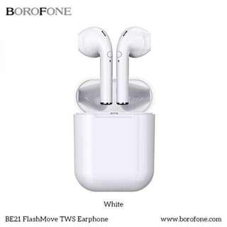 Borofone BE21 Wireless Earphone Headphone / 真無線藍牙耳機 / 全新行貨有保養