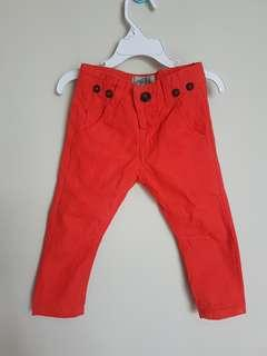 Zara pants orange