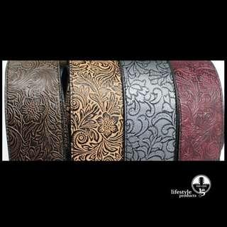 High Quality PU Leather Guitar Strap *New & In Stock*