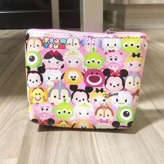 🚚 🌟BN INSTOCK Adorable Tsum Tsum Friends Zipper Pouch (V14)