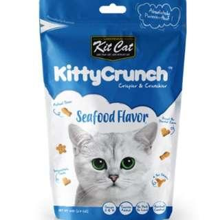 Kitty Crunch Cat Treats Biscuits Seafood