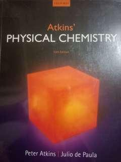 Atkins' Physical Chemistry 10th Edition