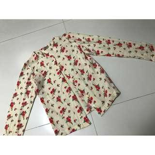 Hippy small flower coat