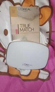 Sale 12:12 loreal true match powder foundation