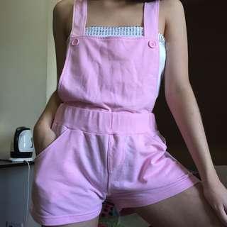 pastel pink cotton jumper