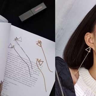 anting panjang korea korean earrings for party forever 21 bershka stradivarius hnm