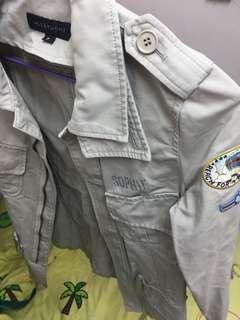 Jill Stuart army coat