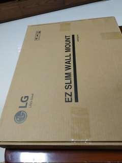LG EZ slim wall mount. made in korea