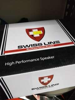 Car speaker swiss line