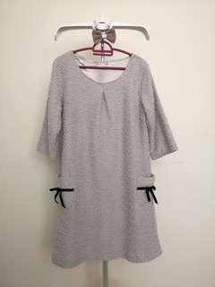 Light Brown Pocket Dress