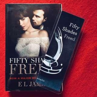Fifty Shades Freed w/ Bookmark