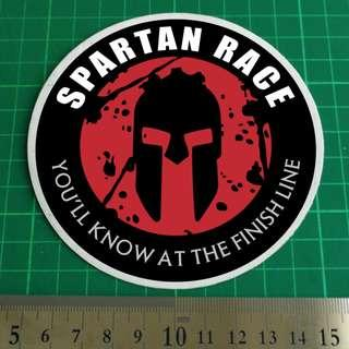 Static Cling Car / Vehicle Windscreen Decal. SPARTAN RACE. 11cm overall diameter. $8 each. 2 for $15. 3 for $20 + Free Normal Mail. Add $2.90 for AM Mail. 9