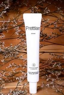 Prettian Silky Brightening Facial BP Cream ( Korean Product )