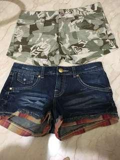 Roxy size 3 2 for $20 brand new authentic