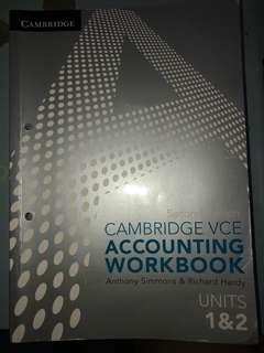 Canbridge Accounting 1/2 Workbook