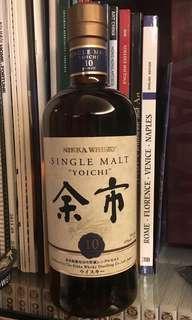 日本威士忌 余市10年 (無盒)