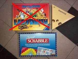 Board Games - Junior Scrabble, Triumvirat