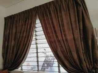 Curtains (full-length, hook type)