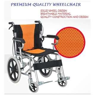 WHEELCHAIR, COMPACT AND LIGHT WEIGHT, IDEAL FOR TRAVEL